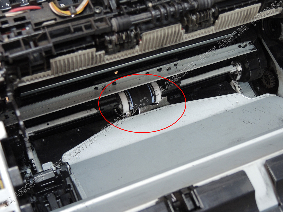 МФУ HP LJ M1005 - шум и треск при печати