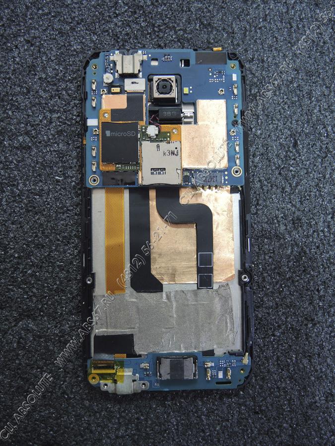 Смартфон HTC Desire 601 - замена платы с микрофоном и разъемом зарядки