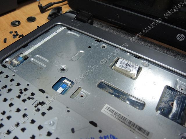 Ноутбук HP 15-G501NR – профилактическая чистка