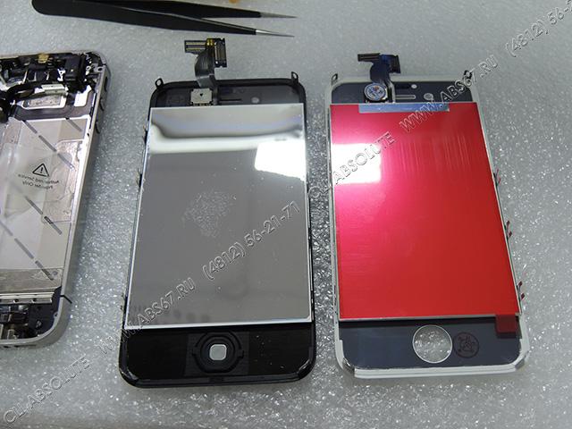 Смартфон iPhone 4S – замена тачскрина, кнопки, задней крышки