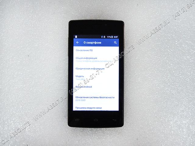 Смартфон Tele2 mini — замена сенсора