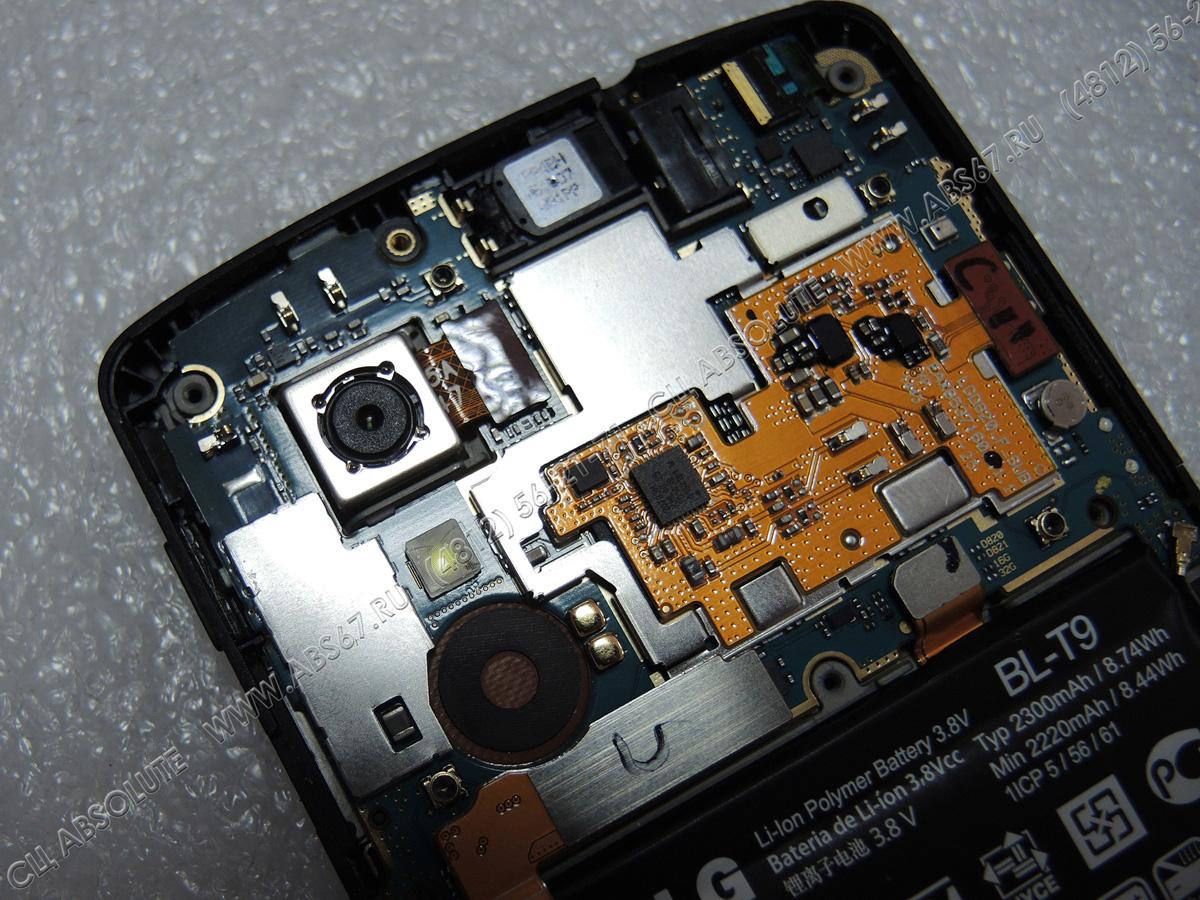 Смартфон LG Nexus 5 D820/D821 – не фокусируется камера