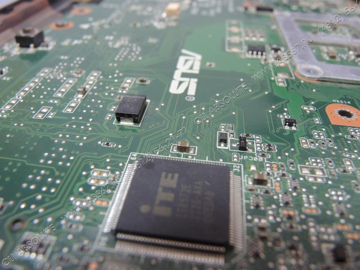 Ноутбук ASUS X5MS — профилактика