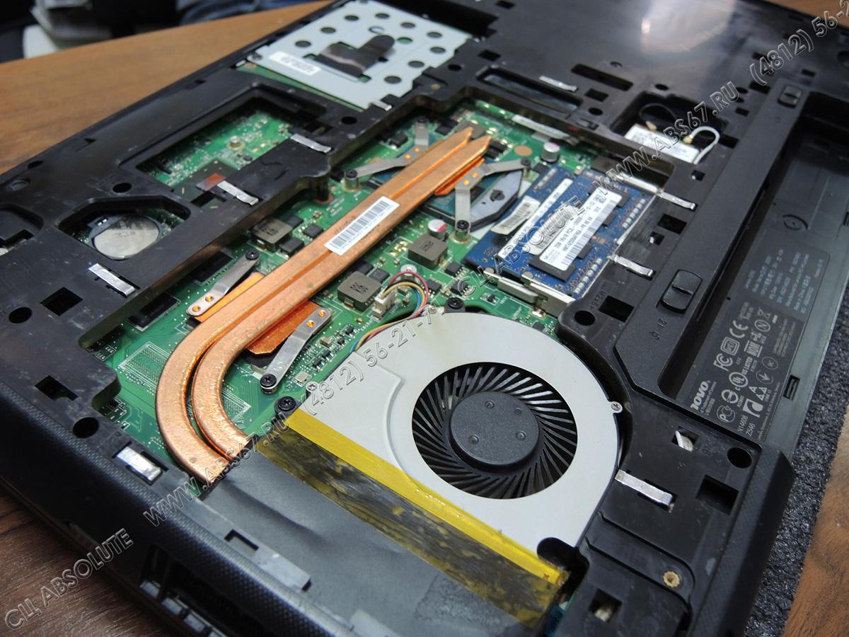 Ноутбук Lenovo - профилактика